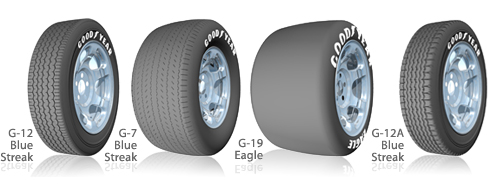 Goodyear Race Tires Sports Car